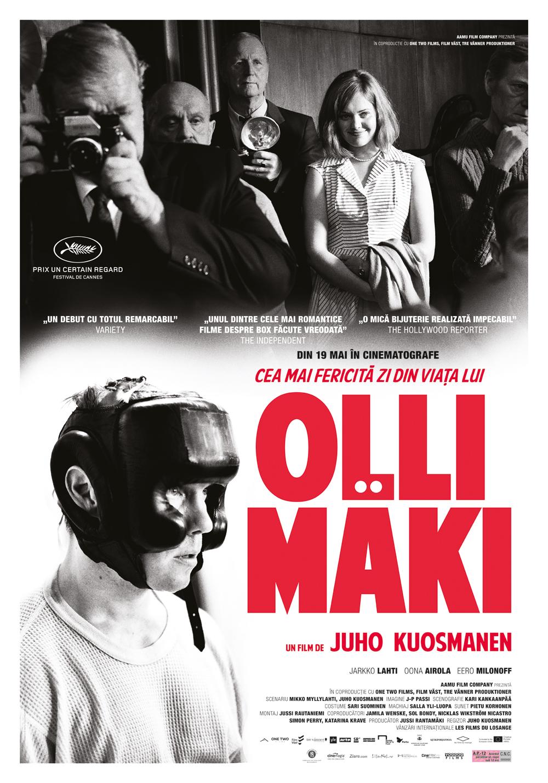 {focus_keyword} Premiera cinematografica - Cea mai fericita zi din viata lui Olli Mäki - 19 mai OLLI MAKI afis 1