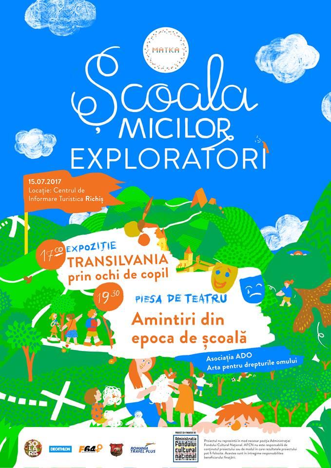 {focus_keyword} Școala Micilor Exploratori se încheie cu două evenimente speciale Afis Scoala ME
