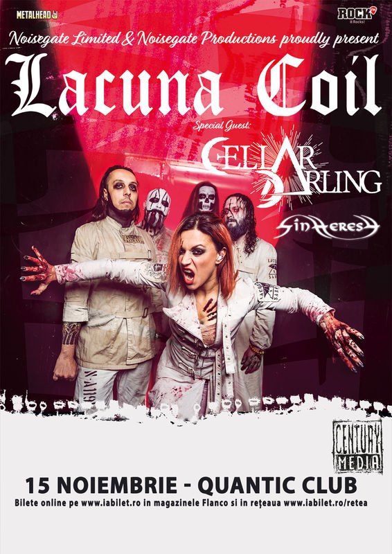 {focus_keyword} A mai rămas doar o săptămână până la concertul Lacuna Coil și Cellar Darling 77f51354 24c5 4b66 9891 dc7c12099f11