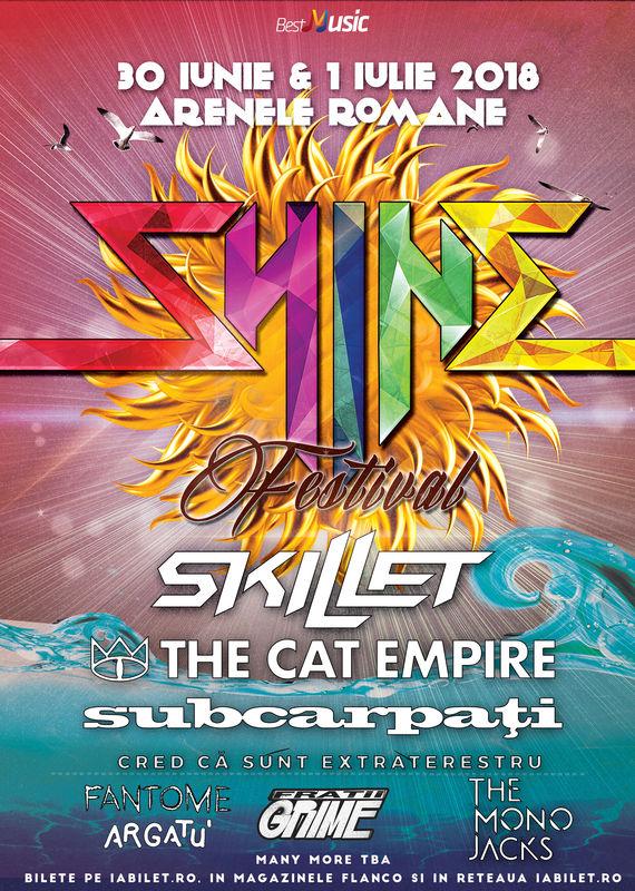 {focus_keyword} The Cat Empire,  Subcarpati, Fratii Grime, The Mono Jacks si multi altii confirmati la Shine Festival 2018 49010b7d bf95 467b a81f ee569ef5673a