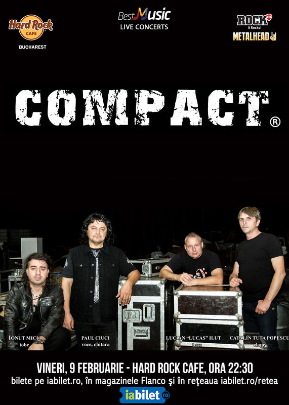{focus_keyword} Concert COMPACT pe 9 februarie la Hard Rock Cafe 7101cda6 c42f 4036 9786 c546e234daa8