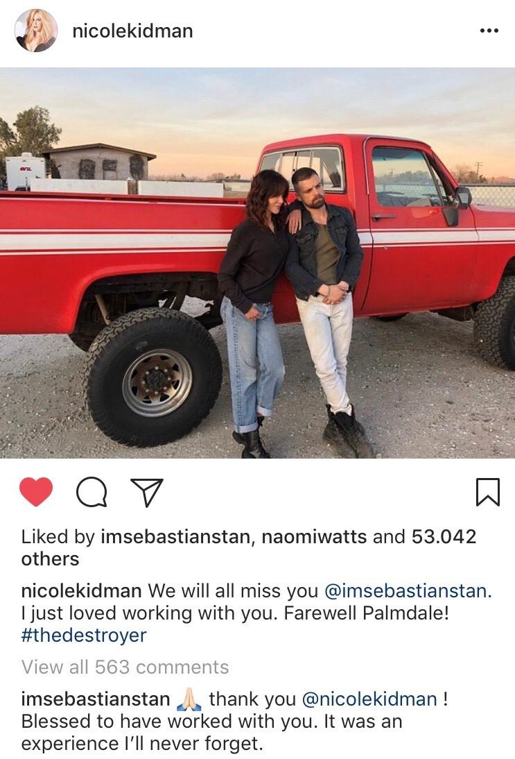 """{focus_keyword} Actorul de origine română de la Hollywood, Sebastian Stan, apreciat de Nicole Kidman! Nicole Kidman despre Sebastian Stan: """"A fost o încântare să lucrăm împreună"""" foto Sebastian Stan si Nicole Kidman"""
