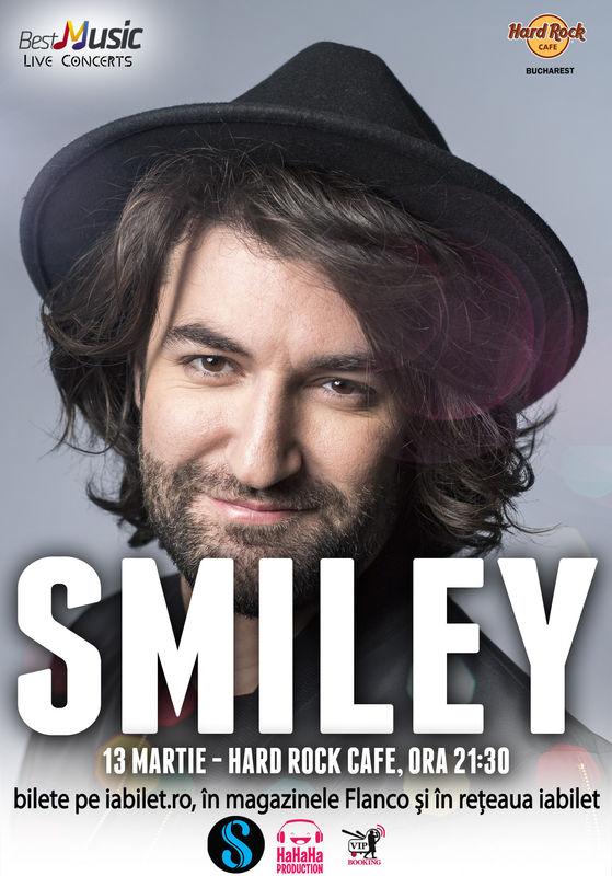 {focus_keyword} Două concerte Smiley la Hard Rock Cafe pe 13 și 14 martie 186f5aca 4d30 4099 8780 c5c0c23f7c8f