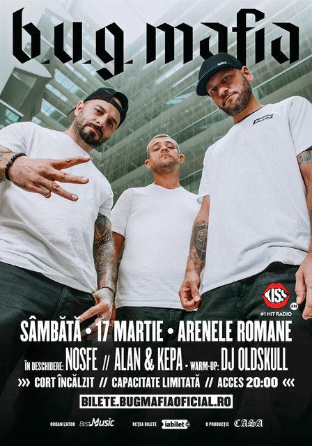 {focus_keyword} Nosfe, Alan & Kepa și DJ Oldskull vor cânta în deschiderea concertului B.U.G. Mafia de la Arenele Romane! a016c703 e7d7 4af2 8c57 ec5e6a02f581