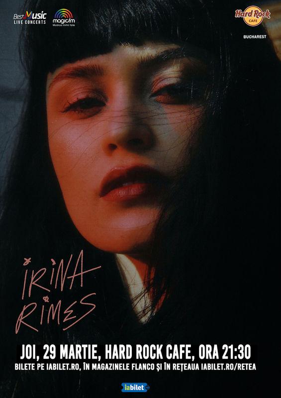 {focus_keyword} Concert Irina Rimes la Hard Rock Cafe pe 29 martie ef4d77b3 cc58 4959 ace5 2de96229f330