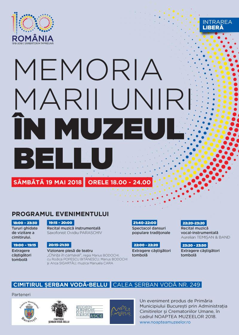 {focus_keyword} Noaptea Muzeelor - Spectacol inedit în Cimitirul Belu, pe 19 mai! afis 5