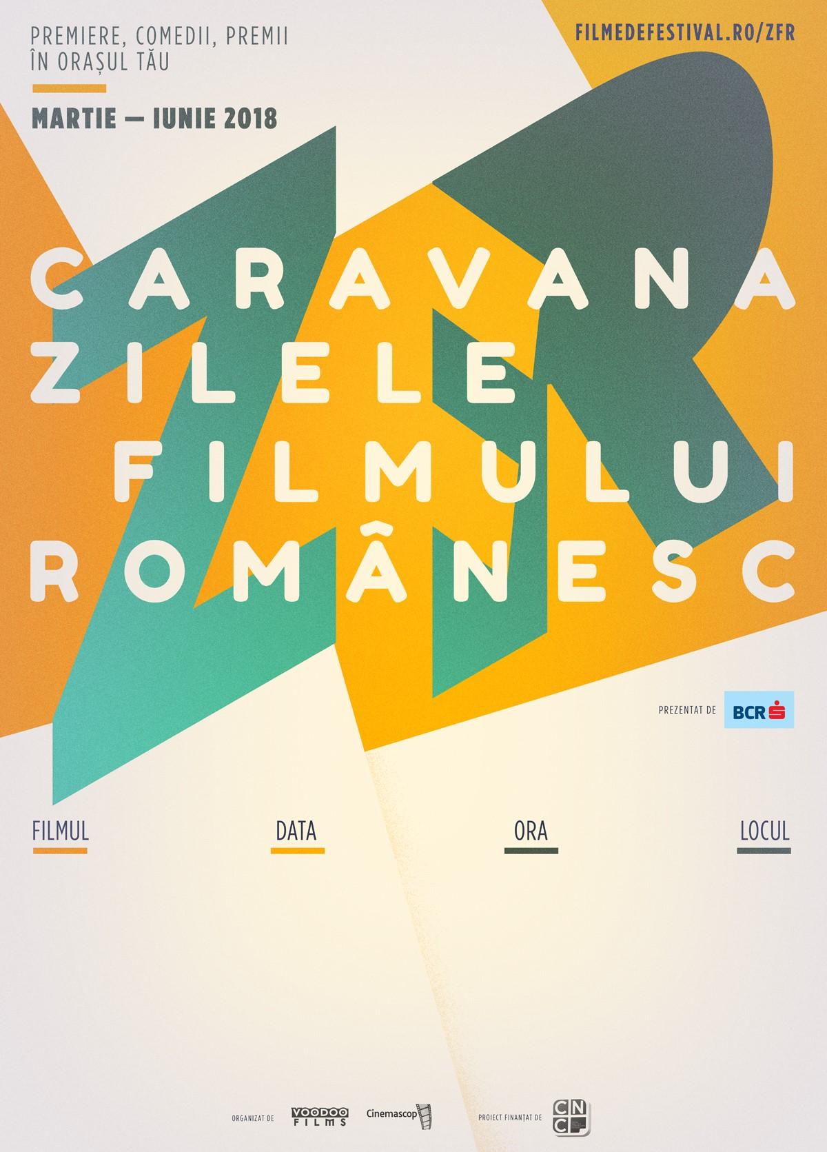 {focus_keyword} Caravana Zilele Filmului Românesc străbate țara de la Iași la Arad Afis ZFR 2018