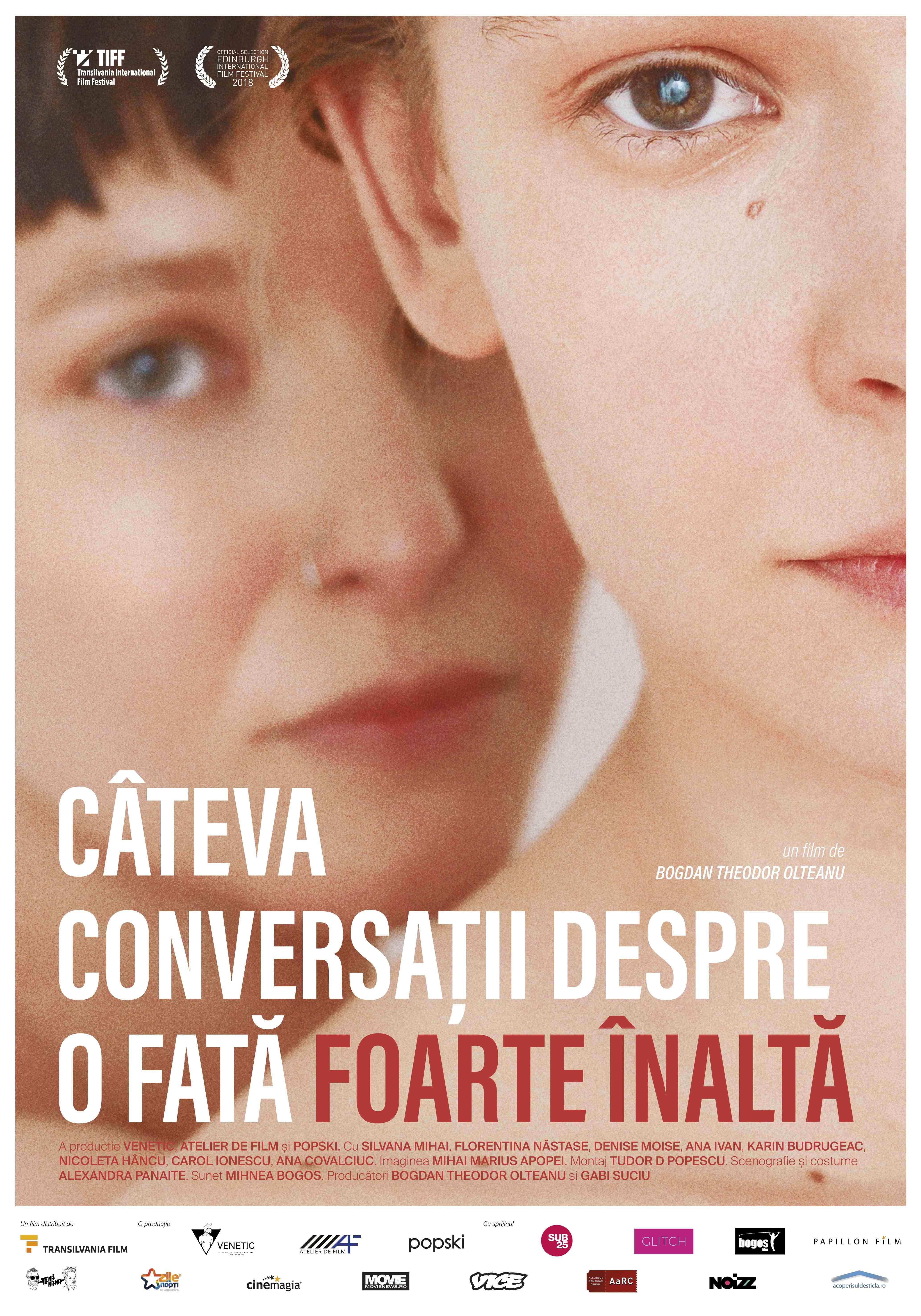 """{focus_keyword} """"Câteva conversații despre o fată foarte înaltă"""" de săptămâna viitoare în cinematografe Poster Ro 1"""