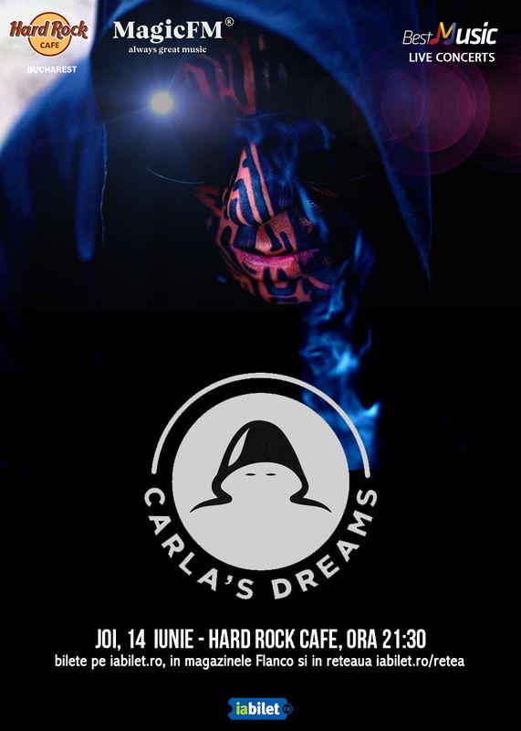 {focus_keyword} Carla's Dreams: doua concerte la Hard Rock Cafe pe 13 si 14 iunie! e0dd8332 97cc 4164 adff 3f091ec646bd
