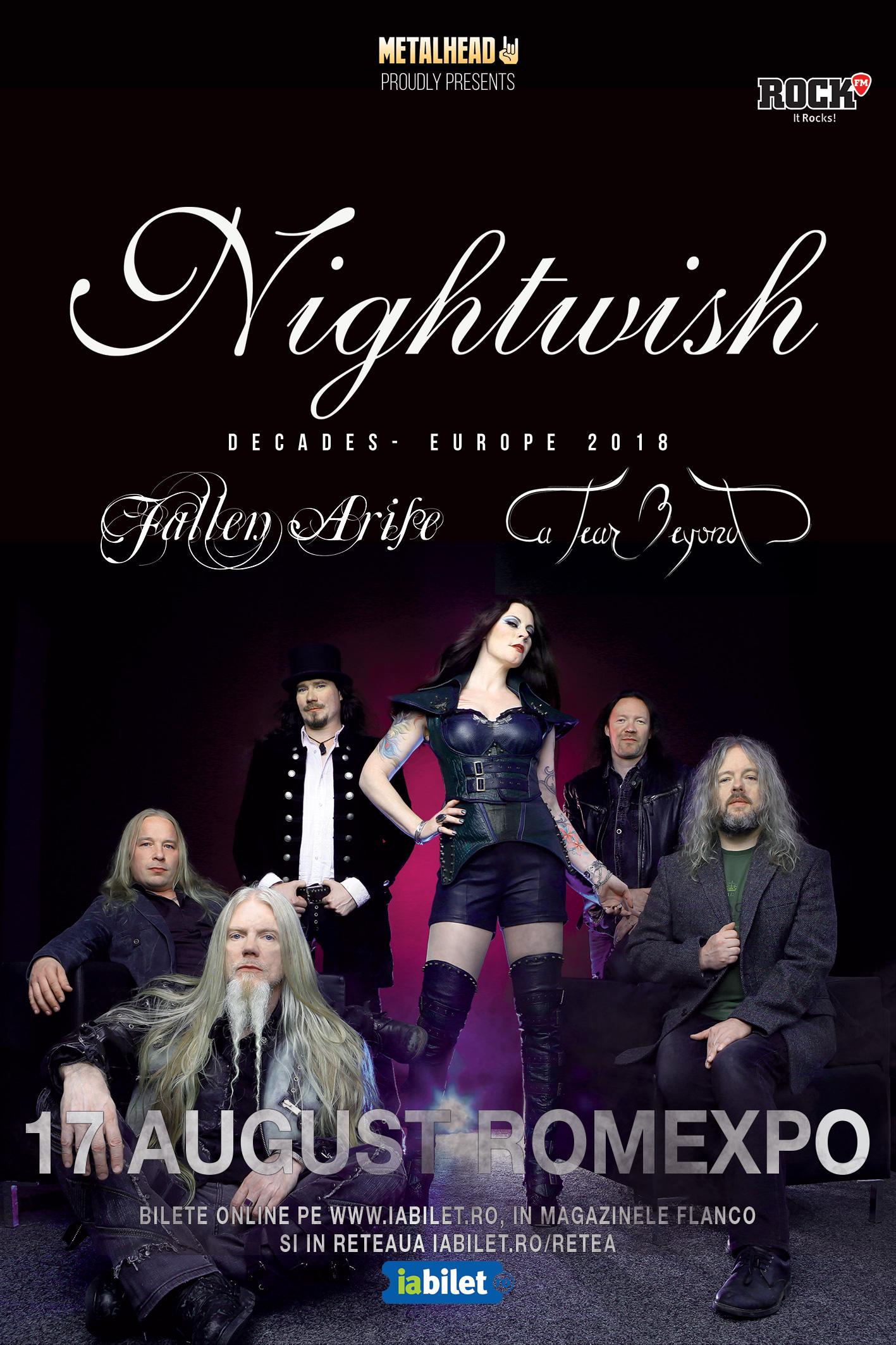 {focus_keyword} Fallen Arise și A Tear Beyond vor deschide concertul Nightwish 3071e1cb 5423 4ac6 a839 e7fb83497bb4