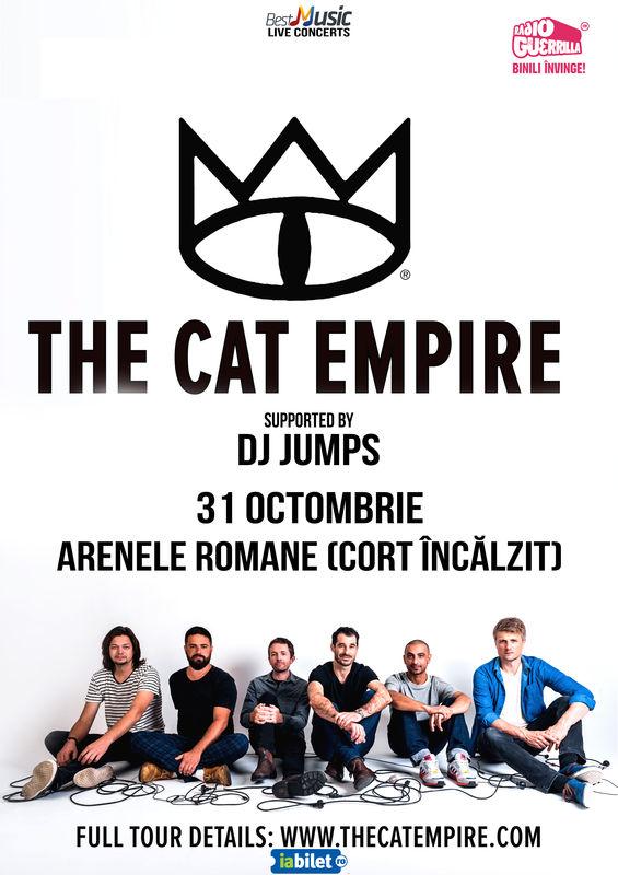 {focus_keyword} The Cat Empire revin la București în luna octombrie 7ecd411a 131d 4ab2 83c5 beaca003f638