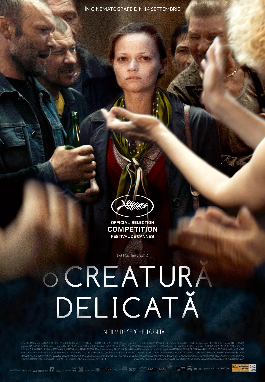 """{focus_keyword} """"O creatură delicată"""", în regia lui Serghei Loznița, din 14 septembrie în cinematografe în România A Gentle Creature Poster RO V1 1"""