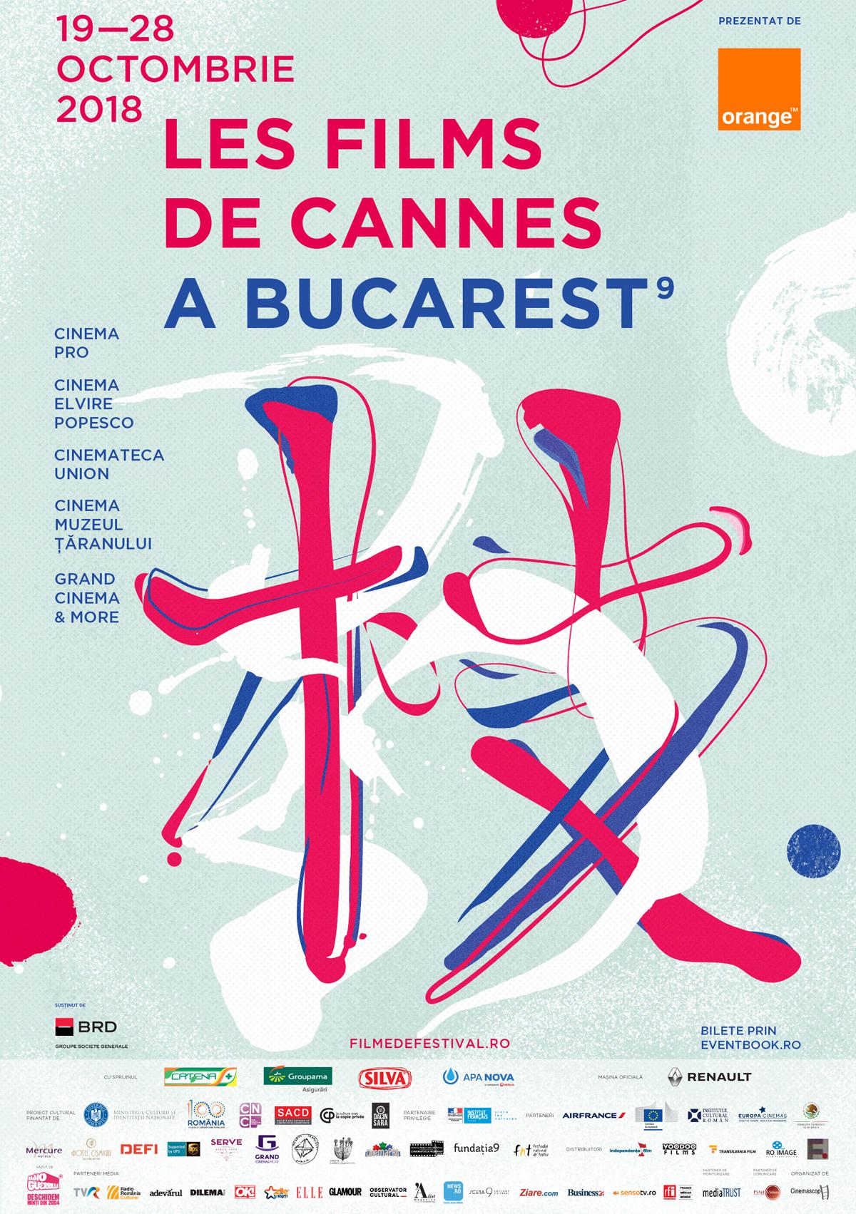 {focus_keyword} S-au pus în vânzare biletele pentru Les Films de Cannes à Bucarest 2018 LFC18 poster