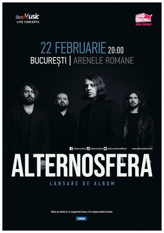 {focus_keyword} Alternosfera - Lansare de Album pe 22 februarie la Arenele Romane din București 4dc2d771 438f 4abe b505 b47c5475df7a