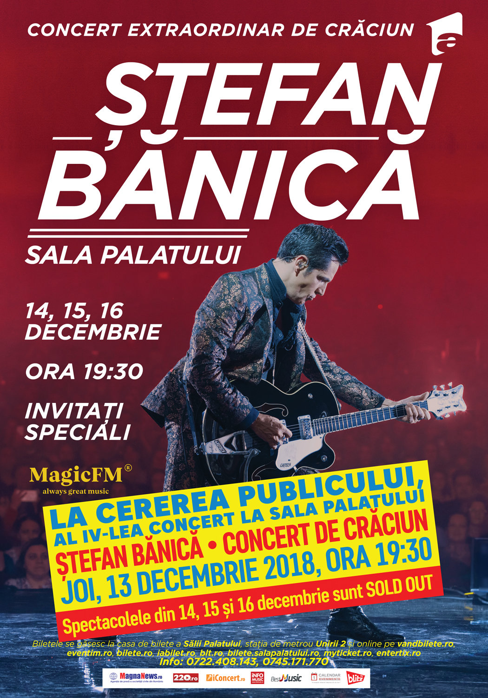 {focus_keyword} Stefan Banica anunta al patrulea concert la Sala Palatului, dupa ce primele trei sunt Sold Out bb5d7ee7 fa48 437b a394 e83d3d54691b