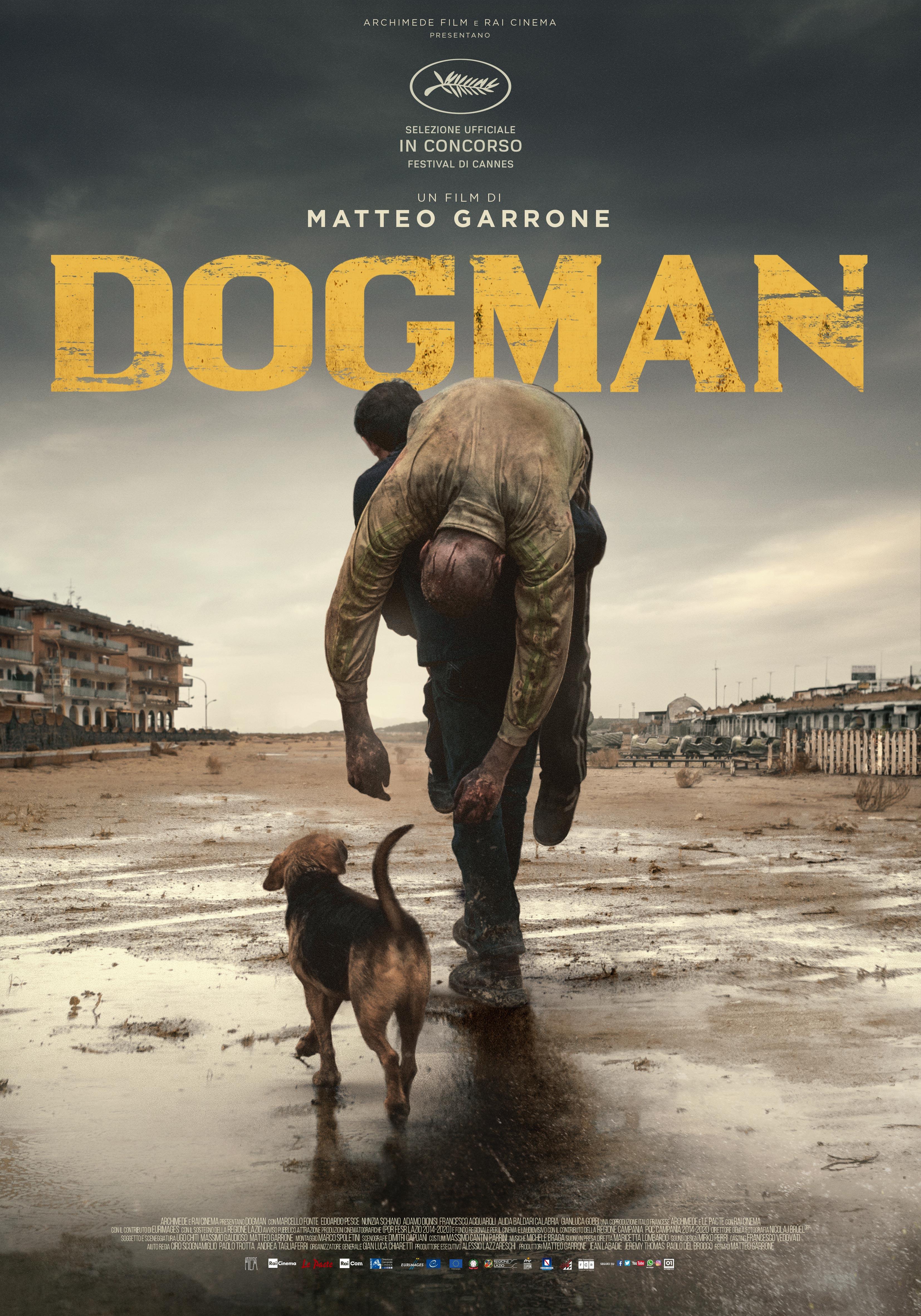 """{focus_keyword} """"Dogman"""", în regia lui Matteo Garrone, triplu-laureat la Premiile Academiei Europene de Film - în cinematografele românești din 25 ianuarie 2019 Dogman Poster 1"""