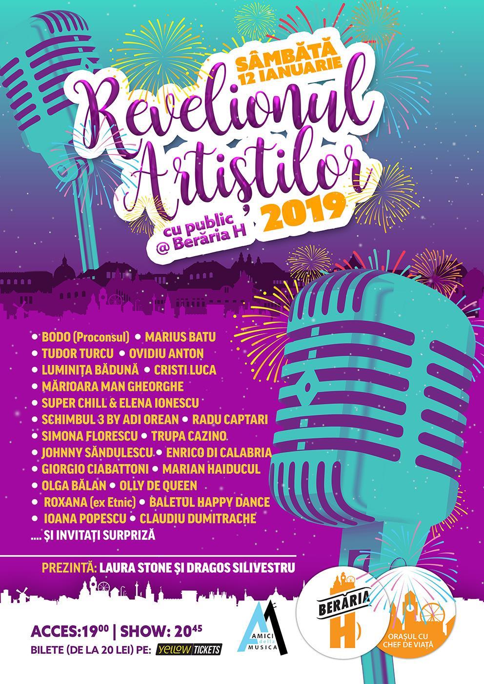 {focus_keyword} Al doilea revelion la Beraria H! Sunteti invitati la Revelionul Artistilor 2019! 49597616 764945653866844 5750405320316813312 n