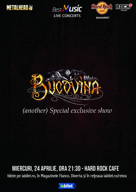{focus_keyword} Concert Bucovina - special exclusive show in Hard Rock Cafe 49baddd7 2866 400c a2c6 4e8e26df6b4c