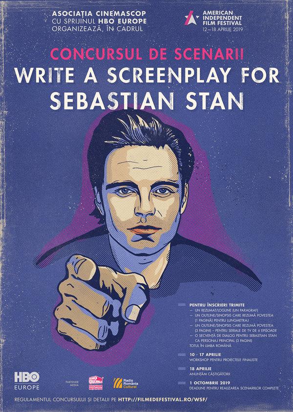 {focus_keyword} Au fost aleși finaliștii concursului Write a Screenplay for Sebastian Stan AIFF concurs posterweb nodeadline