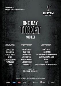 {focus_keyword} Custom Reșița 2019, bilete de o zi puse spre vânzare și line-up-ul festivalului anunțat Afis Custom Resita line up