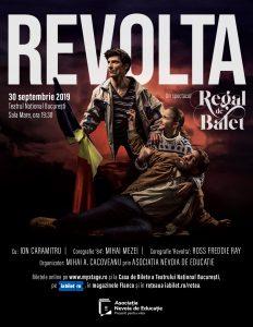 {focus_keyword} Elevii care au luat 10 la BAC, invitați la un spectacol de balet despre Revoluția din '89 Revolta afis portrait