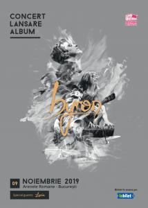 {focus_keyword} Lucia cântă în deschiderea trupei byron la lansarea noului lor album pe 9 noiembrie la Arenele Romane lansare byron special guest Lucia