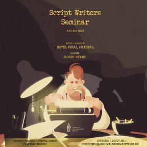 {focus_keyword} Învață cum să perfecționezi un scenariu de film cu profesorul Roger Hyams la workshopul organizat de Cristina Jacob AFIS SCRIPT WRITERS SEMINAR