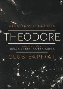 {focus_keyword} Formația Theodore (post-rock, Grecia) în concert la Expirat pe 23 octombrie; în deschidere – Lucia & Andrei do Radiohead Theodore Expirat 23