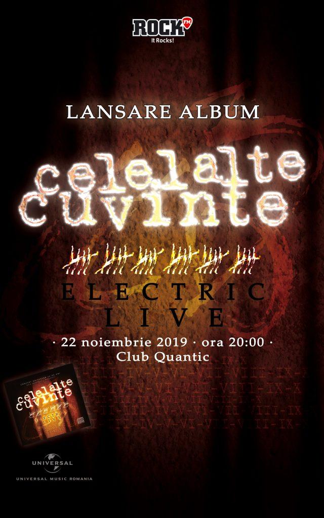 """{focus_keyword} Celelalte Cuvinte – Lansare album """"Electric Live"""" la Quantic a85f5de2 aa08 4dd3 b1f6 7919bddb5ef2"""
