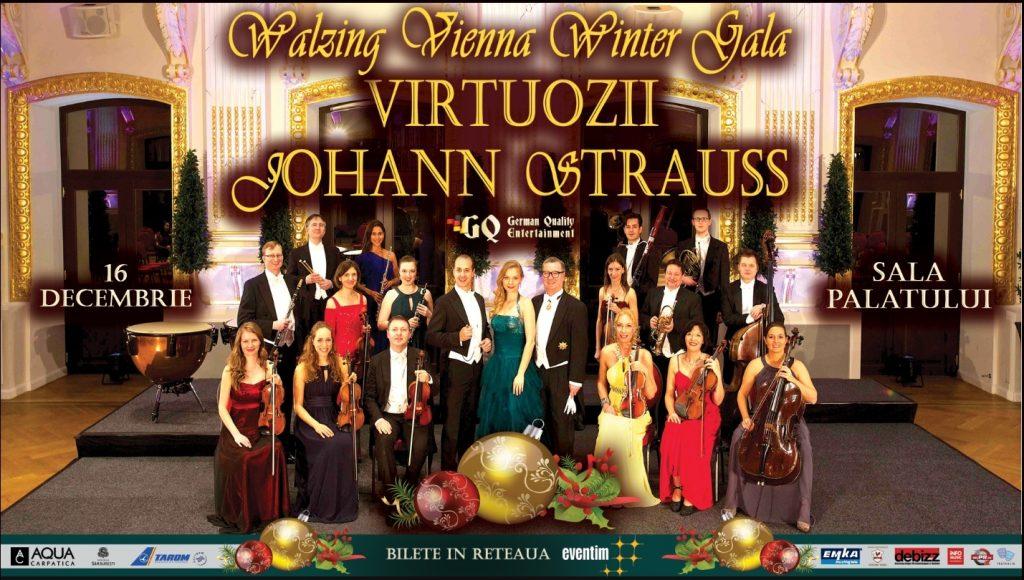 {focus_keyword} Două concerte de muzică clasică va întâmpină în perioada Sărbătorilor! Vezi ce poți face pe 16 și 17 Decembrie! Afis Walzing Vienna Winter Gala