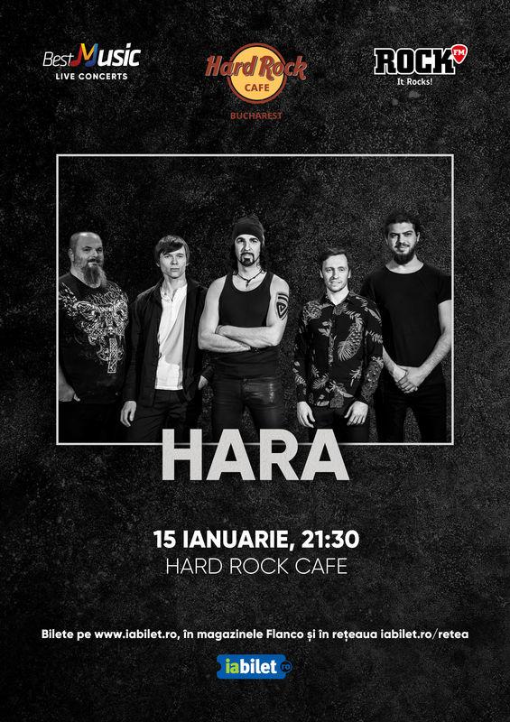 {focus_keyword} Concert Hara la Hard Rock Cafe pe 15 Ianuarie 9c2bc9e3 f027 4c39 9561 9ec0856e88fe