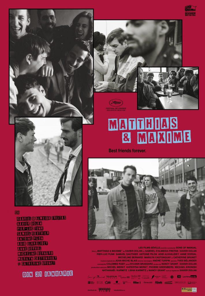 {focus_keyword} Un film ca un selfie cu prietenii: Matthias & Maxime al lui Xavier Dolan - din 31 ianuarie în cinematografe MM AfficheRO