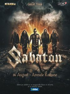 {focus_keyword} Concert SABATON - The Great Tour la Arenele Romane pe 14 August a5013e3a 7e5a 4463 b26e c549c8b1acb7