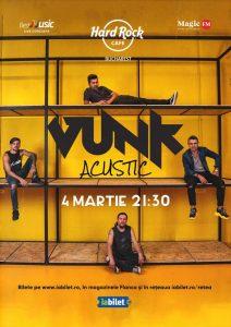 {focus_keyword} Concert VUNK - acustic la Hard Rock Cafe pe 4 Martie f2bbadfd d31b 4ac8 8c7d 7bb3c99e45fe