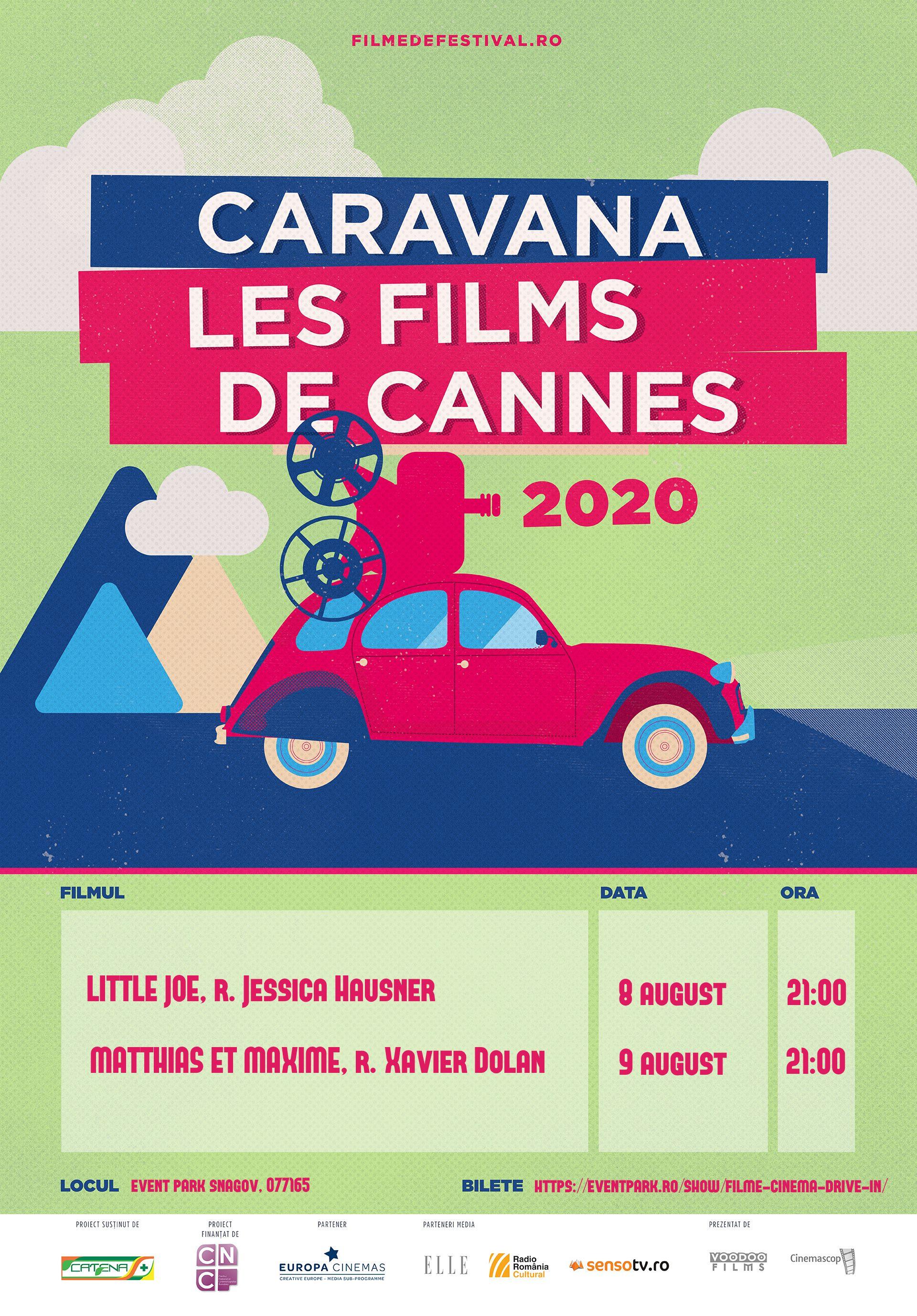 {focus_keyword} Weekend cu filme de pe croazetă aduse de Caravana Les Films de Cannes à Snagov - Cinema în aer liber pe 8 și 9 august la Event Park Snagov – Caravana Les Films de Cannes a Snagov