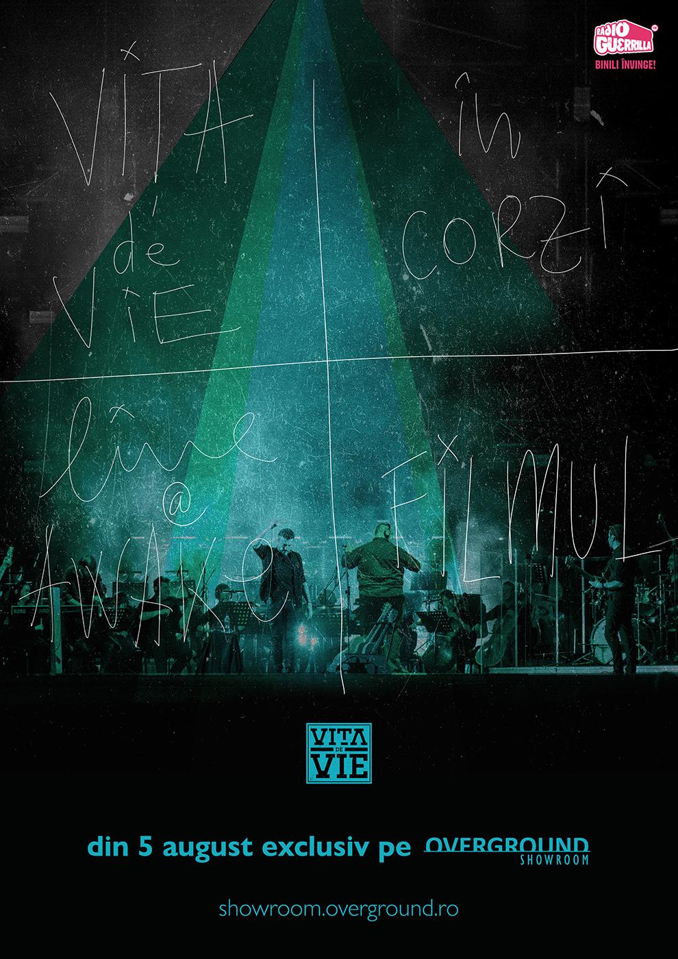 """{focus_keyword} Vița de Vie lansează piesa """"Praf de stele"""" live la AWAKE. Concertul simfonic """"În corzi"""" este disponibil integral online din 5 august exclusiv pe Overground Showroom VdV portrait"""